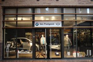 Van Poelgeest BMWi Pop-up store Oegstgeest