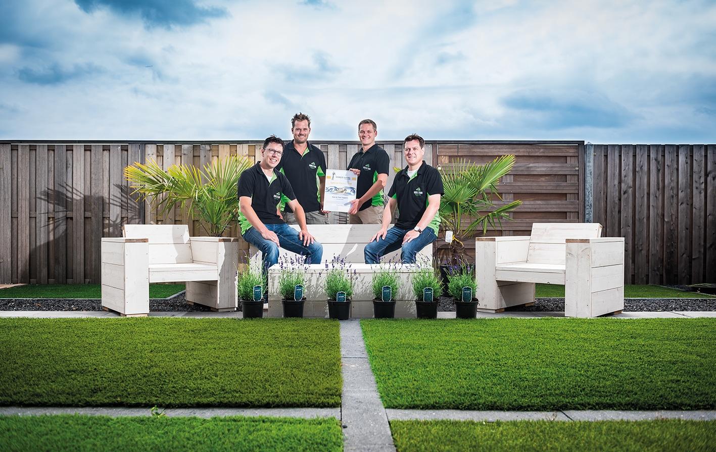 Huis tuin toppers is een schoolvoorbeeld van online for Huis in tuin